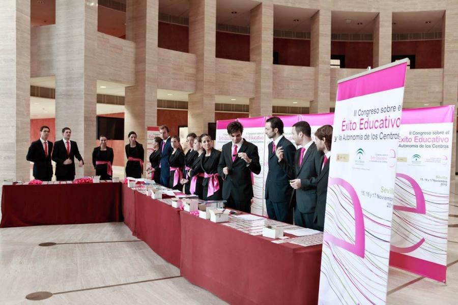 Palacio de Exposiciones y Congresos - Recepción
