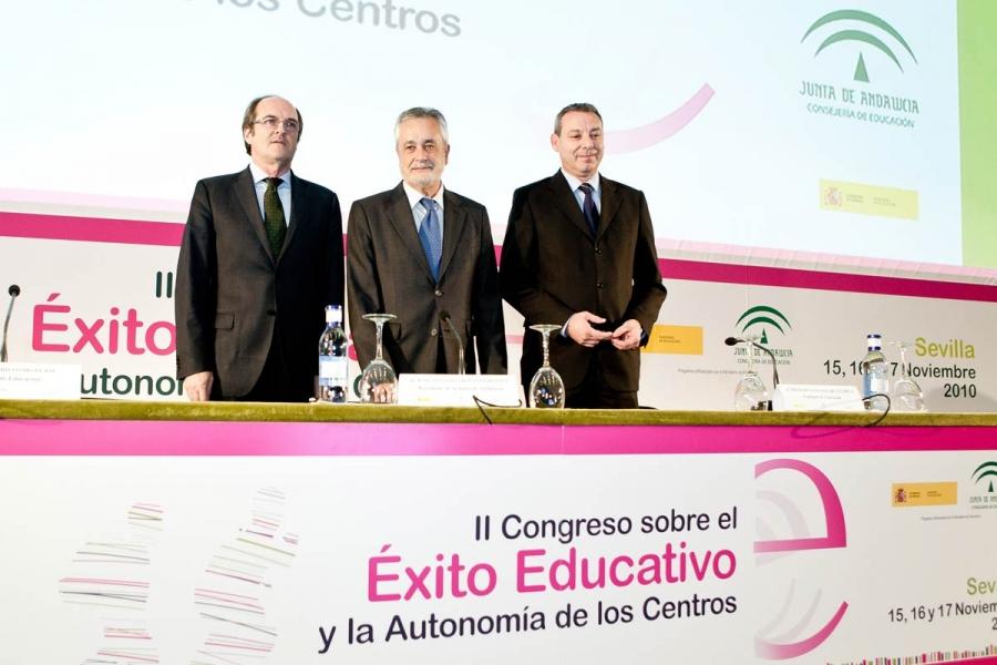 Presentación: Griñán y Ángel Gabilondo