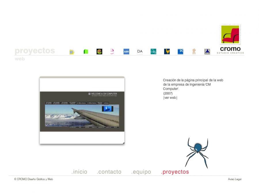 Web Flash Cromo - Logos