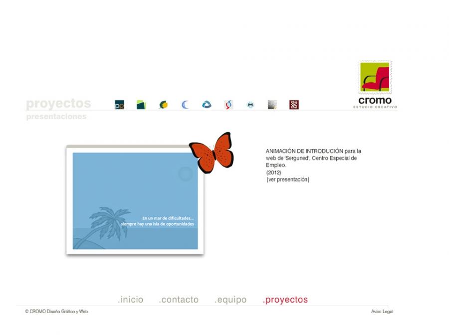 Web Flash Cromo - Multimedia