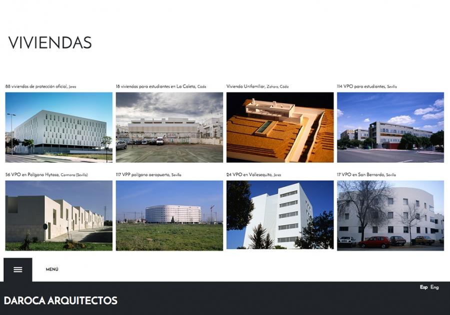 Web Daroca Arquitectos - Obras