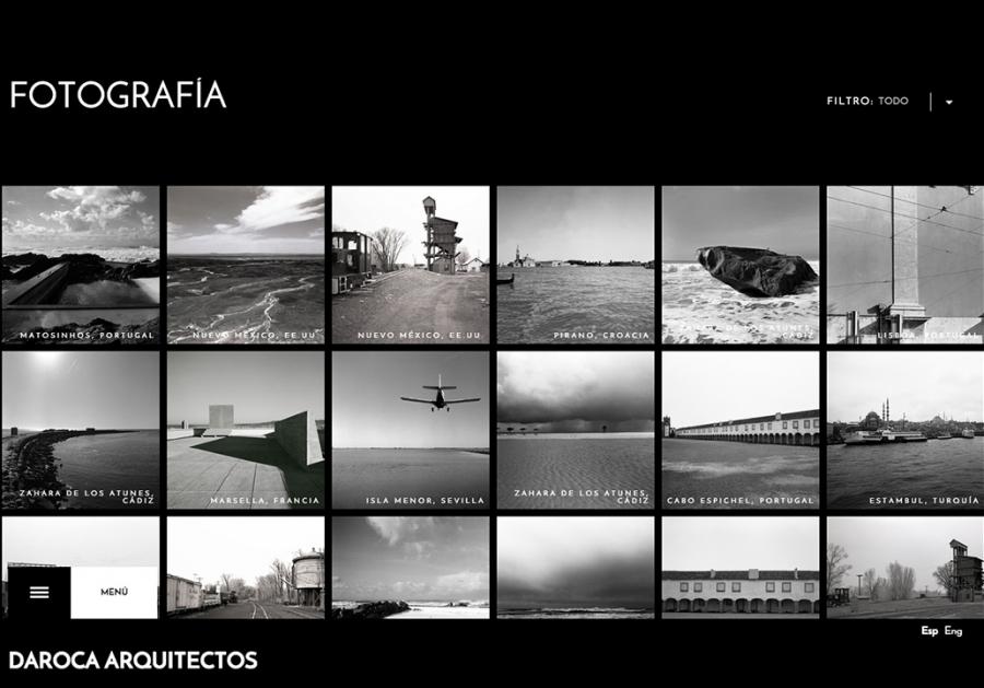 Web Daroca Arquitectos - Fotografía