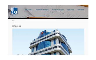 Web HQ Arquitectura