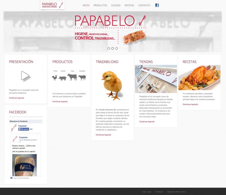Web Papabelo